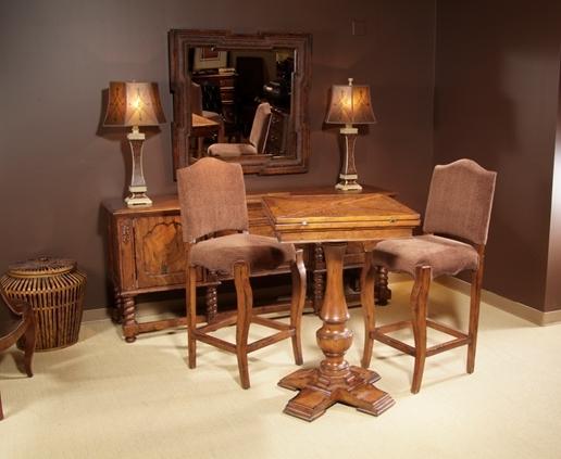 麦好木旗T.S.BERRY桦木收藏类626-93F-CV吧椅