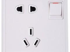施耐德电气 丰尚E8215-10us 白色10A 250V