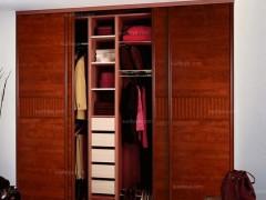 C2框花梨木平板衣柜