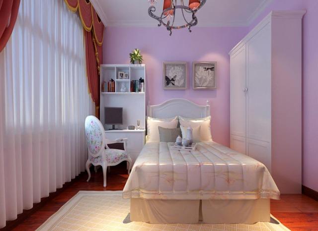 欧美风情卧室书架装修图片图片