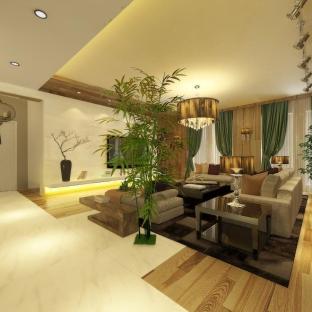 简欧风格三居室客厅沙发装修效果图大全图片