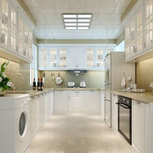 欧美风情88平米二居室厨房装修效果图欣赏