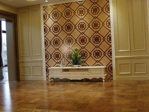 锦绣前程客厅地板(木之韵系列――花样韵)