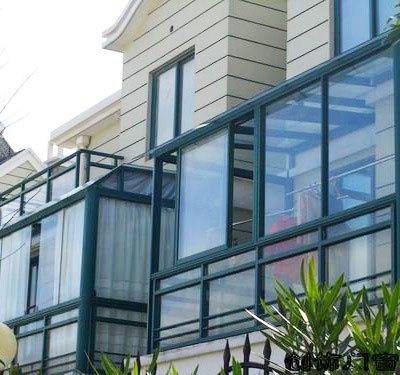 常州荣堡门窗凤铝789双层钢化玻璃铝合金推拉门窗封阳台平移窗