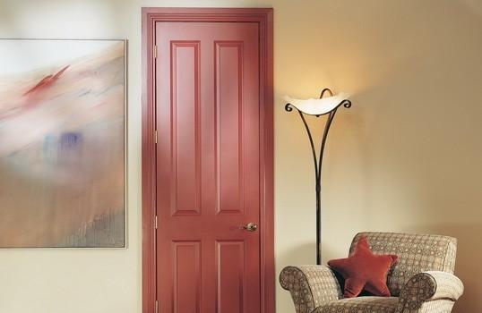 美国艺王Carftmaster 可文翠 油漆门 实木复合