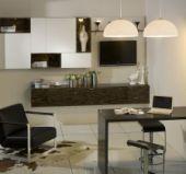 金牌厨柜 模压系列 现代款之铜锣湾图片