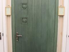 美国艺王CraftMaster竖槽雕花门 油漆门 实木复合