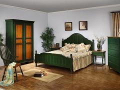 麦好木旗下ART桦木法式北欧风ART07-4 1.8米双人床