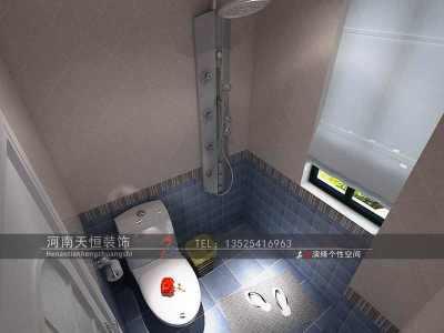 地中海风格-140平米三居室装修样板间