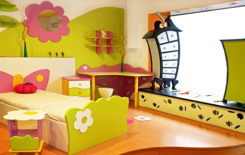 打造绮丽儿童房 给你一个梦幻般的孩提时代