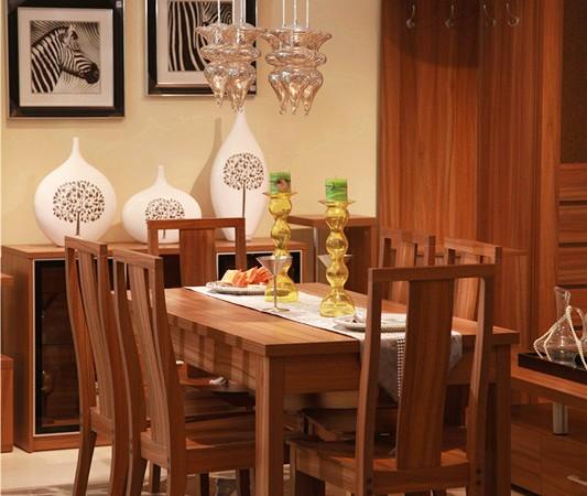 北京格林安家具A02#餐桌、A11#餐椅