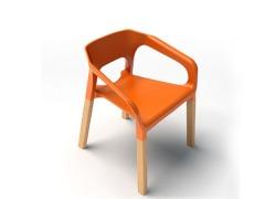 汇美PW001塑料餐椅