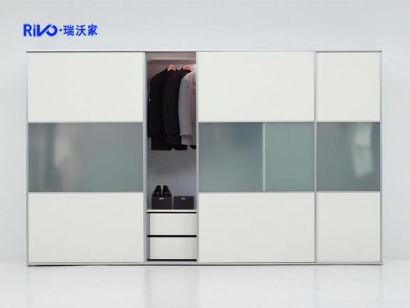 瑞沃家居 YG-11定制衣柜 推拉衣柜 定制板式家具