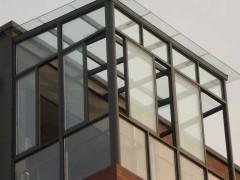 凤铝80型钢化玻璃阳光房