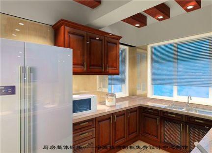 实木简欧厨房风格常见的五种布局与解读