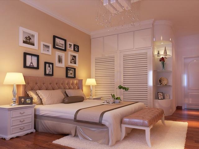 二居室卧室衣柜装修效果图欣赏