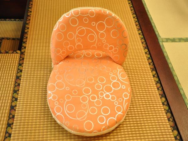 缘和榻榻米-圆形海绵休闲椅