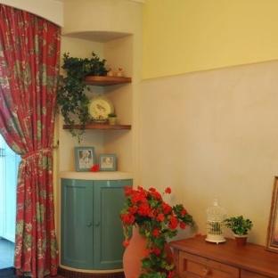 空间小了别着急,精美绝伦的壁橱来帮你 嵌入式壁橱既可做储物柜,又图片