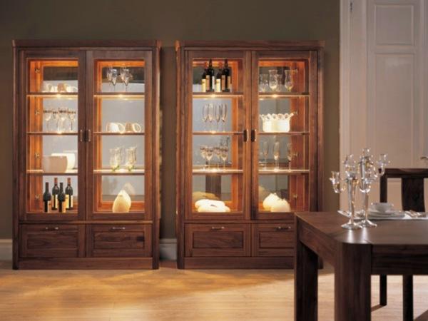 上海实木家具|BO-JG02榆木实木酒柜