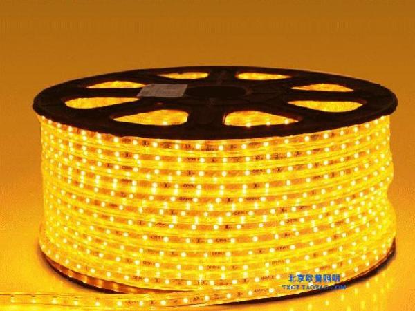 欧普旗舰店高亮LED灯带3528贴片客厅吊顶防水七彩霓虹灯灯