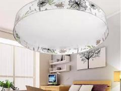 欧普卧室吸顶灯简约现代书房灯LED圆形照明灯具灯饰40W22