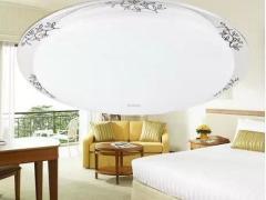 欧普照明专柜正品暗花/LED22W卧室书房简约时尚吸顶灯具