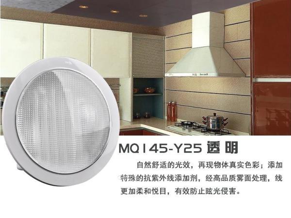 正品欧普照明 MQ145-Y25-透明/乳白嵌入式25w厨房