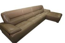 天立 皮沙发 A-1189 牛皮 实木图片