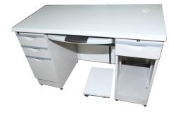 广东科劲 电脑桌 0135 灰白 钢板 北京