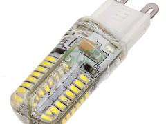 水晶灯替换光源G9节能灯泡LED g9玉米灯硅胶外壳3W