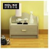 好莱客创意儿童田园床头柜儿童储物柜 迷你斗柜简约抽屉式收纳柜