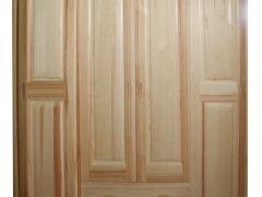 振湘 四门推拉柜 造型门 木本色 实木
