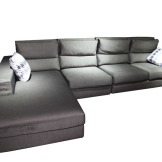 南都家私 沙发 1132 深灰 木架