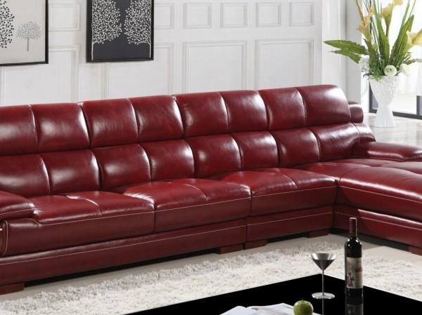 真皮沙发 颜色可选 高档 大气
