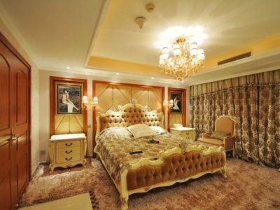 巴洛克风格-130平米三居室装修样板间