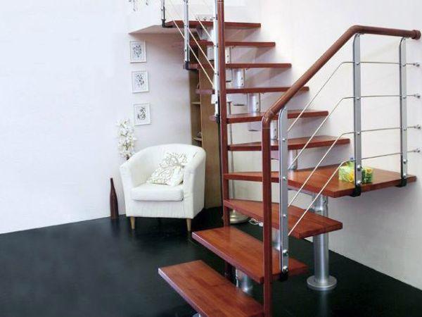 北京雅步迪美楼梯厂定制钢木楼梯