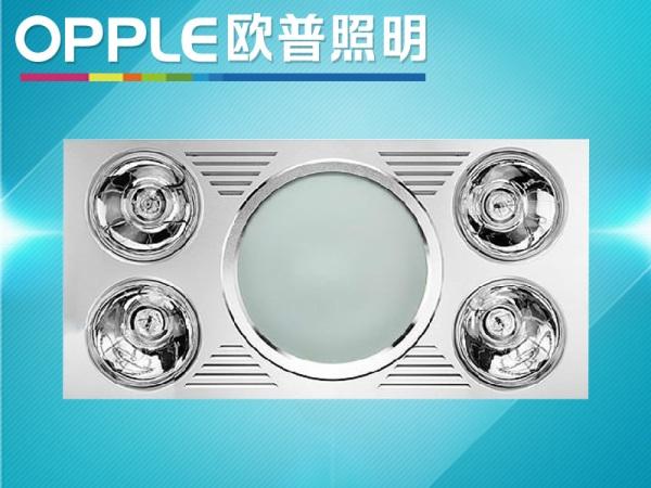 欧普照明集成吊顶浴霸取暖照明换气三合一多功能灯暖JYLF02