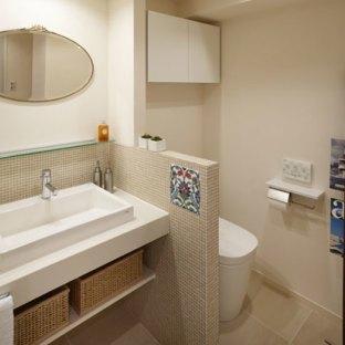 整洁收纳 日式小户型洗手间巧妙装饰法高清图片