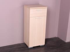 意风家具环保板材美洲橡木色开门鞋柜X2-3