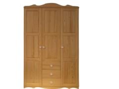 九州方园 LW3007 衣柜 实木 本色