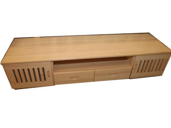九州方园 LK4011电视柜 实木 本色