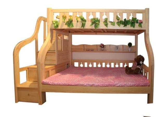 九州方园 LW2026-2 子母床 实木 本色