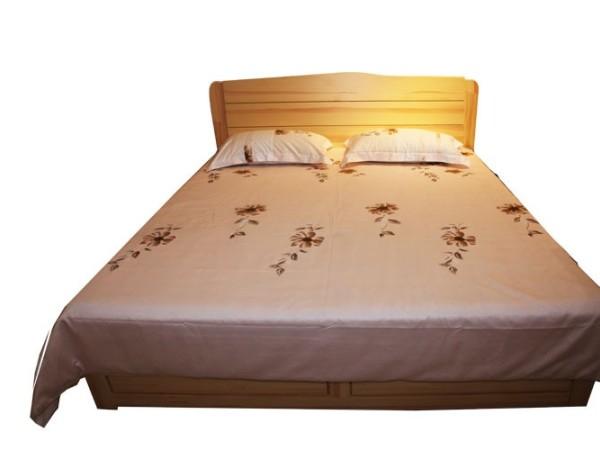 九州方园 LW2021-2箱式床 实木 本色