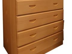 九州方园 LX7002 六斗柜 实木 本色