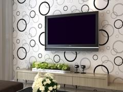 [现货]PVC材质、无纺布材质墙纸 批发;包安装。