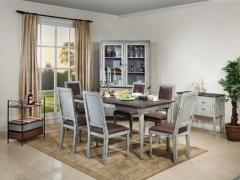 麦好木ART榆木法式北欧风情ART10-8餐桌