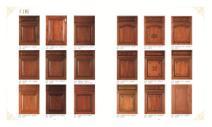 工厂直销橱柜、衣柜、卫浴柜实木门板图片
