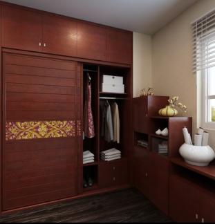 a7--索菲亚全屋定制卧室:大百叶衣柜,飘窗,榻榻米,书柜 满4500减1000!图片