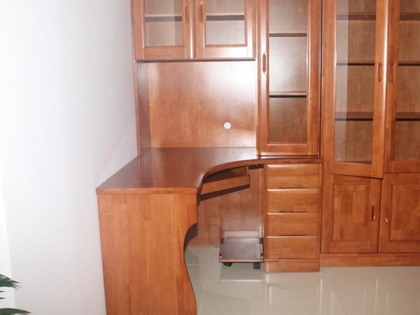 富斯达 转角电脑桌 201# 茶色 橡木 天津 沙河店