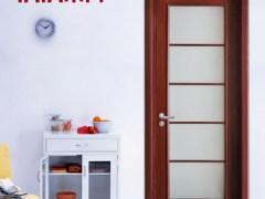 TATA木门民族范儿 玻璃诱惑门9色可选@-015 免漆门